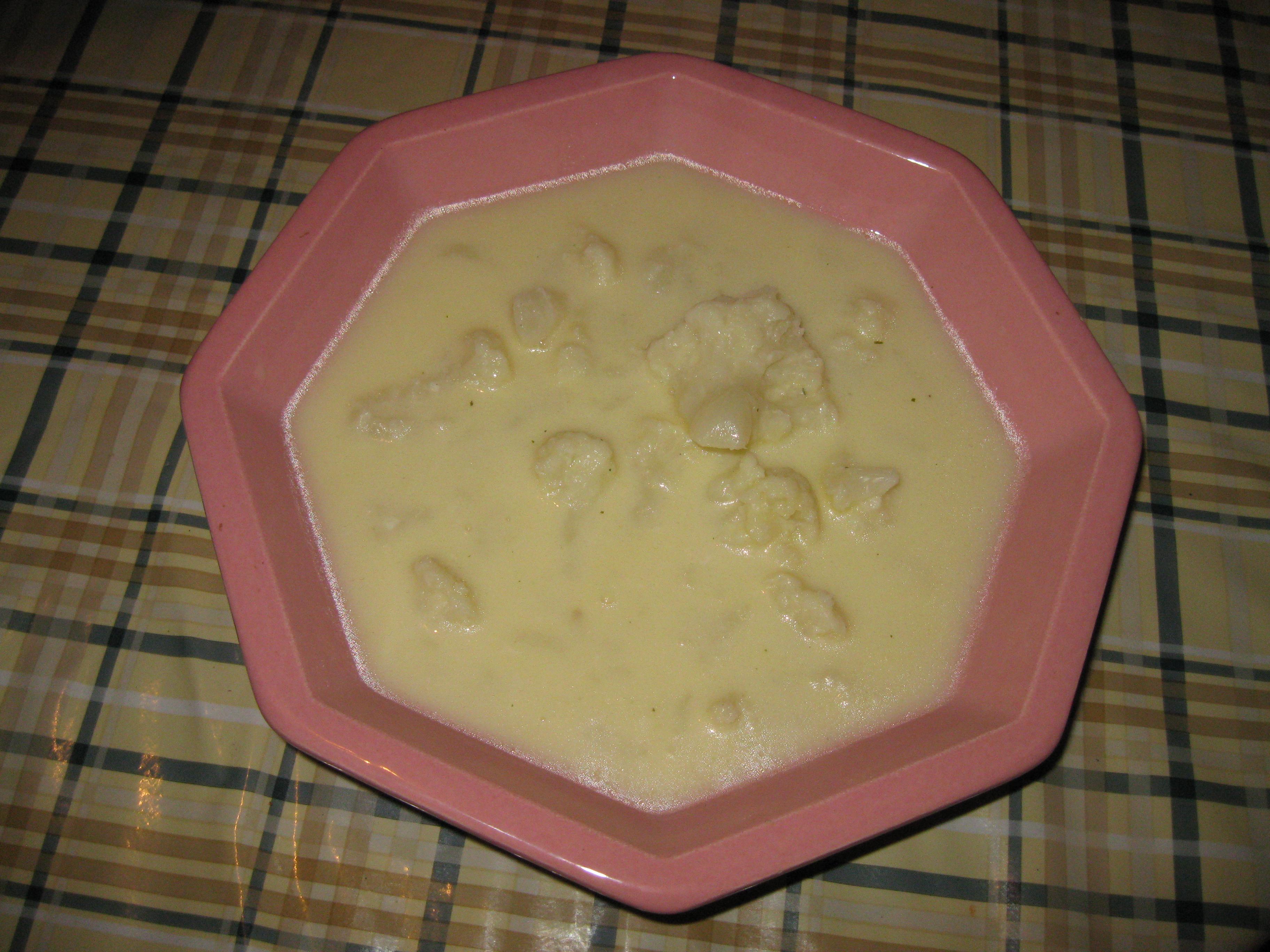 кува се са млеком и путером